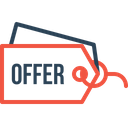 Offer Tag Label Icon