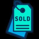 Tag Sold Icon