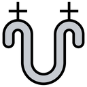 Tangent Symbol Icon