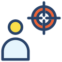 Target Businessman Project Icon
