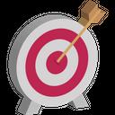 Aim Target Dart Icon