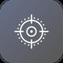 Target Keywords Seo Icon