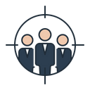Targeted audience Icon