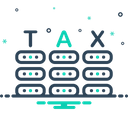Tax Business Income Icon