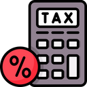 Tax Rates Icon