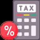 Tax Rates Icon