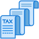 Tax Receipt Tax Invoice Tax Icon