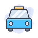 Airport Taxi Car Icon