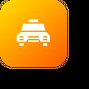 Taxi Transportation Car Icon