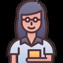 Teacher Woman Female Icon