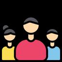 Team Group Man Icon