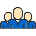 Employees Team Group Icon