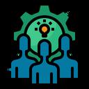 Team Work Idea Icon