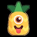Pineapple Emoji Teasing Icon