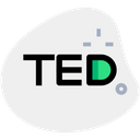 Ted Technology Logo Social Media Logo Icon