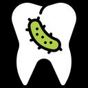 Teeth Bacteria Icon