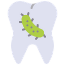 Teeth Bacteria Teeth Bacteria Icon