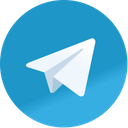 Telegram Message Fax Icon