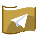 Telegram Social Media Social Network Icon