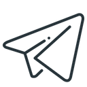 Telegram Airplane Air Icon
