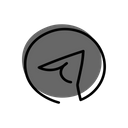 Telegram Message Communication Icon