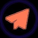 Telegram Social Logo Social Media Icon