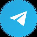 Telegram Social Media Communication Icon