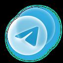 Telegram Social Media Icon