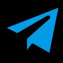 Telegram Plane Telegram Social Media Logo Icon