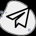 Telegram Plane Icon