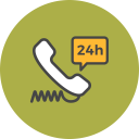 Telephone Support Icon