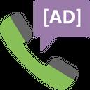 Telephonic Ad Customer Service Customer Support Icon