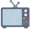 Tv Television Antenna Icon