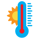 Temperature Heat Summer Icon