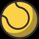 Tennis Ball Game Icon