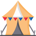 Tent Hut Old House Icon