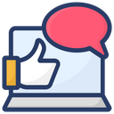 Positive Interaction Appreciation Customer Rating Icon