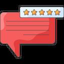 Testimonial Customer Satisfaction Feedback Icon
