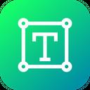 Text Tool Transform Icon