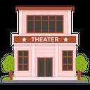 Theater Cinema Hall Cinema Auditorium Icon