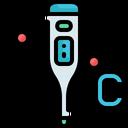 Tool And Utensils Fever Fahrenheit Icon
