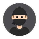 Thief Criminal Robber Icon