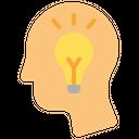 Thinking Creative Mind Creativity Icon