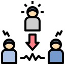 Third Party Mediator Icon