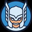 Thor Avengers Warrior Superhero Icon