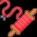 Artboard Copy Thread Cut Rope Cut Icon