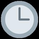 Three Oclock Watch Icon