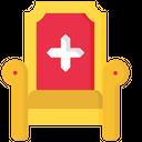 Throne Royal Kingdom Icon