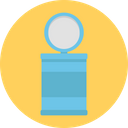 Throwing Trash Dustbin Garbage Can Icon