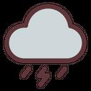 Thunderstorm Thunder Lightning Icon